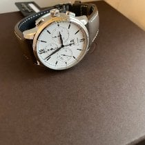 Glashütte Original Senator Chronograph Panorama Date Steel 42mm White