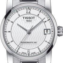 Tissot Titanium Automatic Titan 32mm Sølv Arabertal