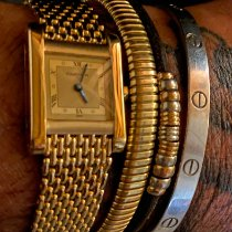 Cartier Tank (submodel) 780932727 Very good Yellow gold 20mm Manual winding