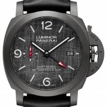 Panerai Luminor GMT Automatic Titanium 44mm Grijs Arabisch