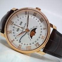 Blancpain Villeret Quantième Complet Rose gold 40mm White Roman numerals
