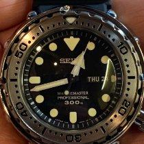 Seiko Marinemaster new 2015 Quartz Watch with original box and original papers SBBN033