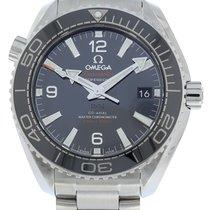 Omega Керамика Автоподзавод Черный 39.5mm новые Seamaster Planet Ocean