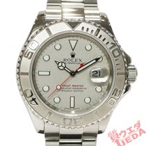 Rolex White gold Automatic 40mm pre-owned Yacht-Master 40
