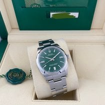 Rolex Oyster Perpetual 36 Steel 36mm Green No numerals United States of America, Florida, Miami