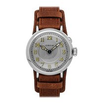 Oris Big Crown 1917 Limited Edition pre-owned 40mm Silver Leather
