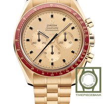 Omega Speedmaster Professional Moonwatch Or jaune 42mm Or Sans chiffres