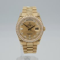 Rolex Day-Date 36 Yellow gold 36mm Gold No numerals United States of America, California, Santa Monica