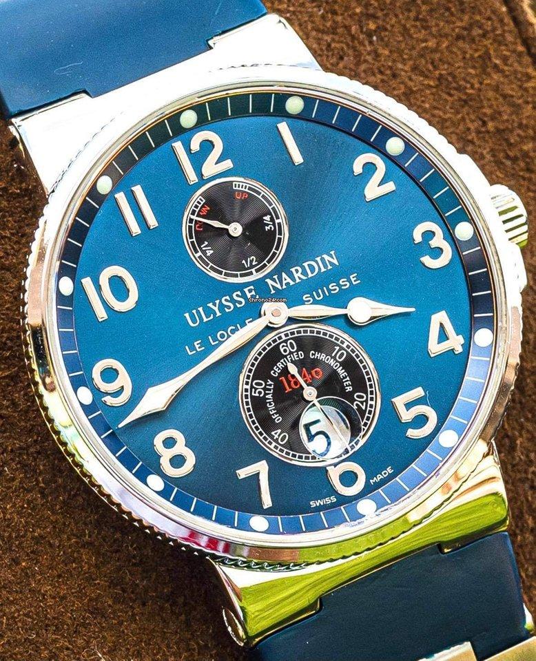 Ulysse Nardin Marine Chronometer 41mm 263-66-3/623 ikinci el