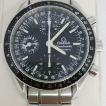 Omega Speedmaster Day Date Steel 39mm Black No numerals