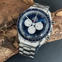 Omega Speedmaster Professional Moonwatch Acier 42mm Bleu