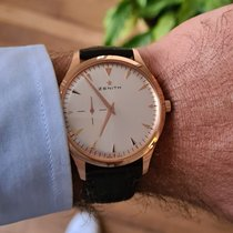 Zenith Elite Ultra Thin Or rose 40mm Argent Sans chiffres France, paris