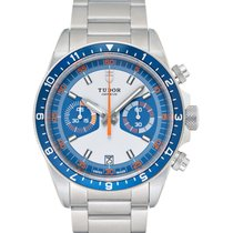 Tudor Heritage Chrono Blue new Automatic Watch with original box and original papers 70330B-0004