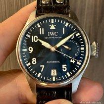 IWC Big Pilot Acier 46mm Bleu