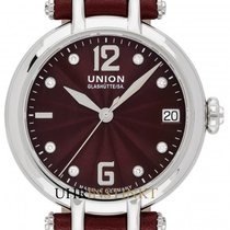 Union Glashütte Sirona Steel 32mm Red