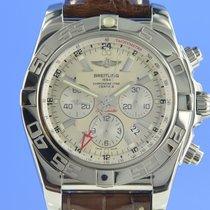 Breitling Chronomat GMT Steel 47mm Silver