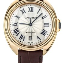 Cartier Clé de Cartier Rose gold 40mm Silver United States of America, Illinois, BUFFALO GROVE