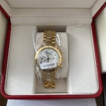 Omega Yellow gold Automatic pre-owned Speedmaster Day Date