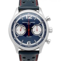Frederique Constant Vintage Rally Steel 42mm Blue