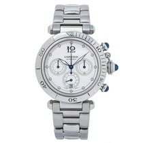 Cartier Pasha Seatimer W31030H3 2010 pre-owned