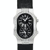 Philip Stein Signature nuevo Cuarzo Reloj con estuche y documentos originales 1DD-MB-CZB