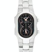 Philip Stein Signature nuevo Cuarzo Reloj con estuche y documentos originales 100-BGRG-SS3