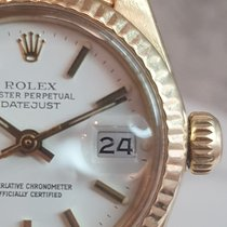 Rolex Lady-Datejust Gelbgold 26mm Weiß Keine Ziffern Deutschland, München