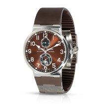 Ulysse Nardin Marine Chronometer 41mm Steel 40mm Brown Arabic numerals United States of America, New York, New York