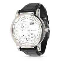 A. Lange & Söhne Lange 1 White gold 42mm Silver Roman numerals United States of America, New York, New York