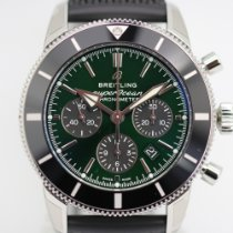 Breitling Superocean Héritage Steel 44mm Green