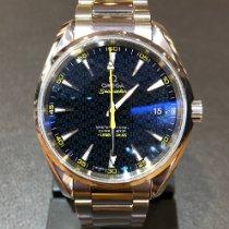 Omega Seamaster Aqua Terra Steel Blue No numerals United Kingdom, Leicester