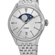 Oris Artelier Date Steel Silver No numerals United States of America, New York, Brooklyn