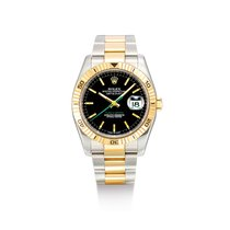 Rolex Datejust Turn-O-Graph Gold/Steel Black United States of America, New York, New York