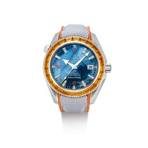 Omega Seamaster Planet Ocean Steel Mother of pearl United States of America, New York, New York