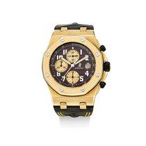 Audemars Piguet Gelbgold Chronograph Braun Royal Oak Offshore Chronograph