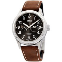 Oris Big Crown ProPilot Worldtimer Steel 45mm Grey Arabic numerals