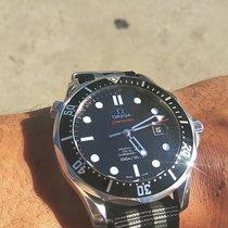Omega Seamaster Diver 300 M Acier 41mm Noir Sans chiffres France, Paris