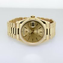 Rolex Day-Date 36 Yellow gold 36mm Gold No numerals United States of America, Illinois, Chicago