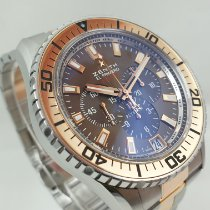 Zenith El Primero Stratos Flyback Gold/Steel 45.5mm Brown