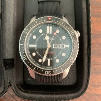 Bremont Supermarine Steel 43mm Black United Kingdom, Bath