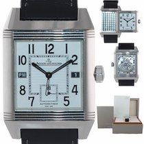 Jaeger-LeCoultre Reverso Squadra Hometime Steel 35mm Silver Arabic numerals United States of America, New York, Huntington