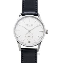 NOMOS Zürich Datum Steel 39.8mm Silver United States of America, California, Burlingame