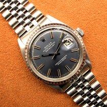 Rolex Datejust Acier 36mm Bleu France, Paris