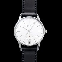 NOMOS Steel 38mm Manual winding 381 new United States of America, California, Burlingame