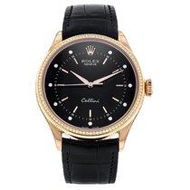 Rolex Cellini Time Rose gold 39mm Black No numerals UAE, Dubai