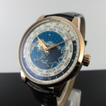 Montblanc Red gold Automatic Blue Arabic numerals 41mm new Heritage Spirit