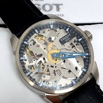 Tissot T-Complication pre-owned 43mm Transparent Leather