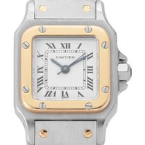Cartier 0902/ 1170902 1985 Santos (submodel) 24mm usato