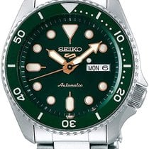Seiko 5 Sports Steel 42.5mm Green No numerals United States of America, Massachusetts, Boston