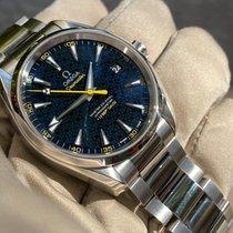 Omega Seamaster Aqua Terra Steel Blue No numerals